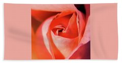 Blurred Rose Hand Towel
