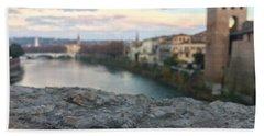 Blurred Verona Bath Towel