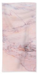 Blush Marble Bath Towel