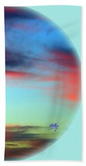 Blushed Sky Bath Towel