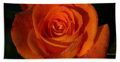Blushing Rose Hand Towel