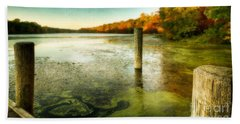 Blydenberg Park In The Fall Hand Towel