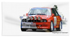 Bmw M3 Group A Bath Towel by Roger Lighterness