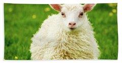 Bo Peep's Sheep Bath Towel by Joan Davis