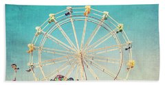 Boardwalk Ferris Wheel Hand Towel