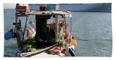 Boat And Ship Bath Towel