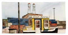Boat Rental Near Duluth Canal Park Hand Towel