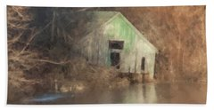 Boathouse On Solstice Hand Towel