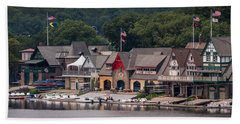 Boathouse Row Philadelphia Pa  Bath Towel