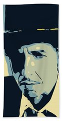 Bob Dylan Hand Towel by Greatom London
