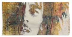 Bob Marley Art - Portrait Size  Bath Towel