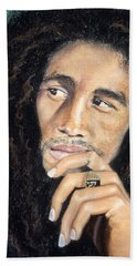 Bob Marley Bath Towel