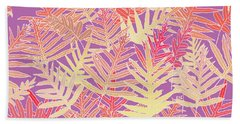 Bodacious Ferns Gold Hand Towel