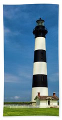 Bodie Island Lighthouse Hand Towel by Andrew Soundarajan