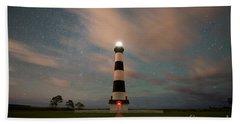 Bodie Island Lighthouse Dreamy Night Bath Towel