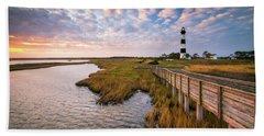 Bodie Island Lighthouse Outer Banks North Carolina Obx Nc Bath Towel