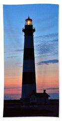 Bodie Lighthouse 7/18/16 Hand Towel