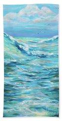 Bodysurfing Afternoon Bath Towel