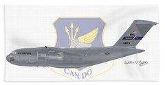 Boeing C-17 Globemaster IIi Mcguire Afb Bath Towel