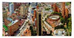 Bogota Colombia Hand Towel