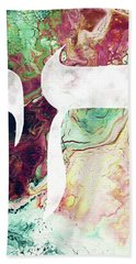 Bohemian Chai- Art By Linda Woods Bath Towel