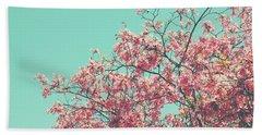 Boho Cherry Blossom 2- Art By Linda Woods Hand Towel