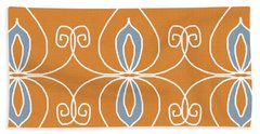 Boho Ornamental 1- Art By Linda Woods Hand Towel