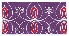 Boho Ornamental 2- Art By Linda Woods Hand Towel