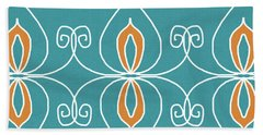 Boho Ornamental 3- Art By Linda Woods Hand Towel