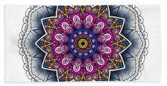 Hand Towel featuring the digital art Boho Star by Mo T