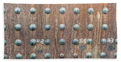 Boiler Rivets Bath Towel