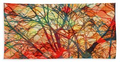 Bold And Colorful Hand Towel