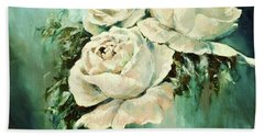 Bold Blooms Hand Towel