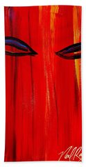 Bollywood Eyes Hand Towel