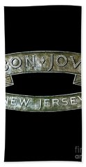 Bon Jovi New Jersey Hand Towel