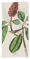 Bonaparte's Flycatcher Hand Towel by John James Audubon
