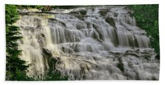 Hand Towel featuring the photograph Bond Falls - Haight - Michigan 001 by George Bostian