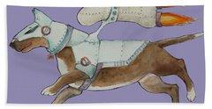 Bone Commander Hand Towel by Jindra Noewi