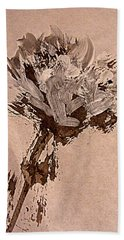 Bonjour Bouquet Hand Towel by Nancy Kane Chapman