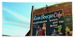 Boogie And Blues Hand Towel by JAMART Photography