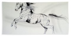 Loud Appaloosa Bath Towel by Cheryl Poland