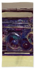 Boom Box Hand Towel
