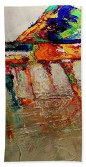 Boom Of The Tingling Strings Hand Towel