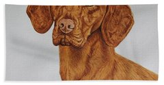 Boomer The Vizsla Bath Towel