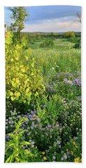 Boone Creek Wildflowers Bath Towel