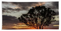 Boorowa Sunset Hand Towel
