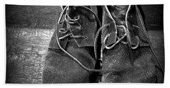 Boots Hand Towel by Joseph Skompski