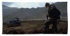 Boots On The Ground Bath Towel
