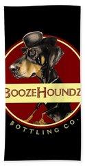 Boozehoundz Bottling Co. Hand Towel