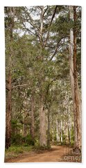 Hand Towel featuring the photograph Boranup Drive Karri Trees by Ivy Ho